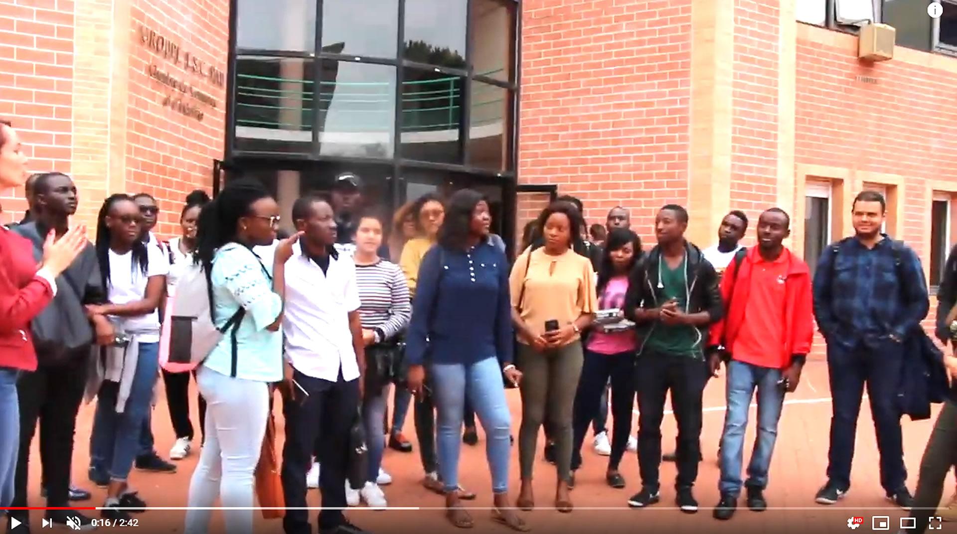 Vidéo accueil étudiants internationaux ESC Pau BS